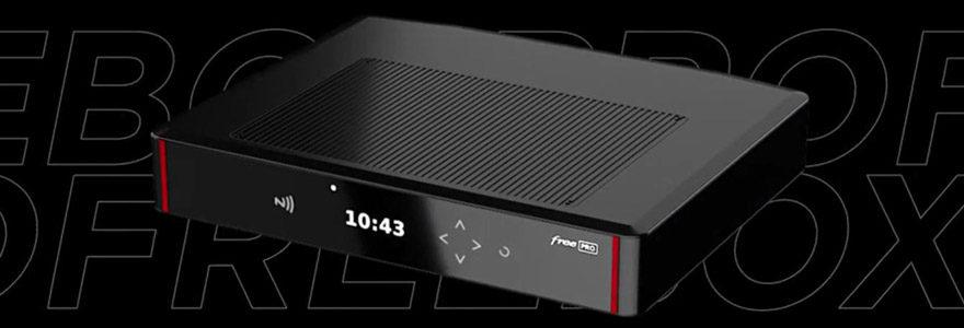 Découvrez la Freebox Pro : la box internet Free pour les pros
